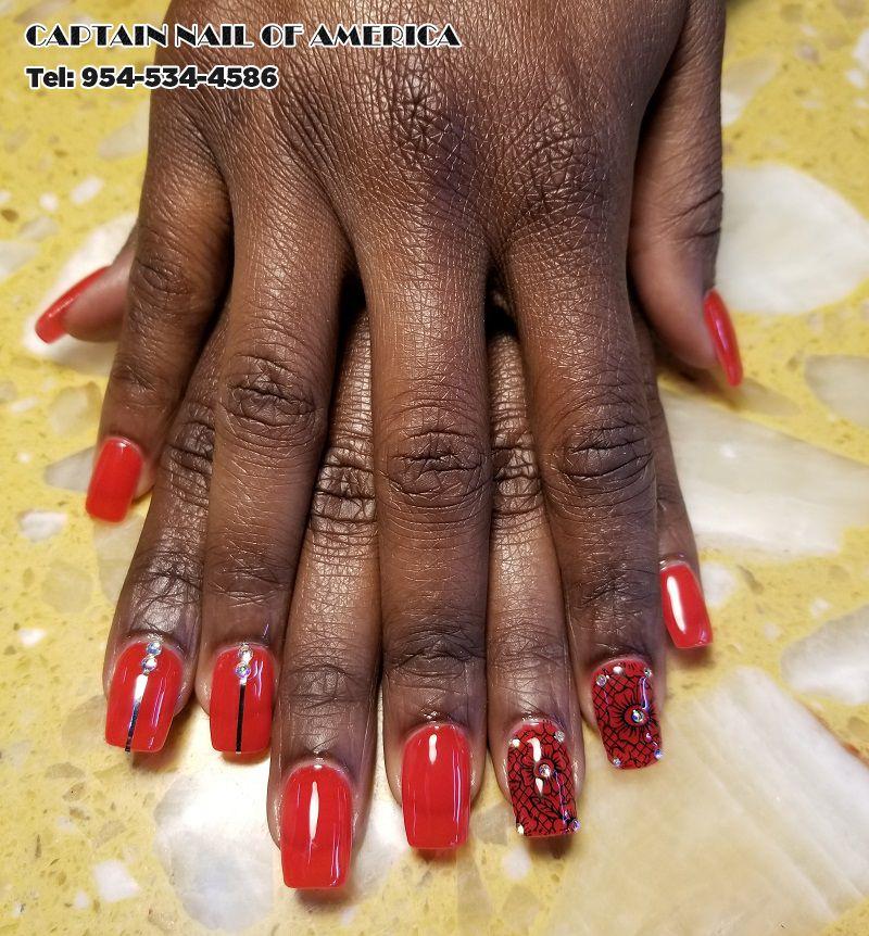Captain Nail of American Nails salon in Hollywood FL