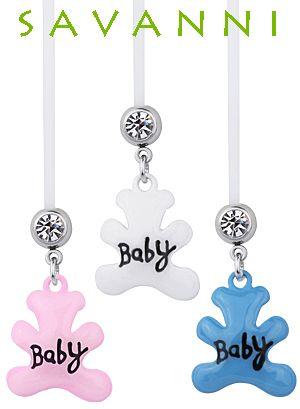 Pregnancy Belly Piercing Teddy Bear