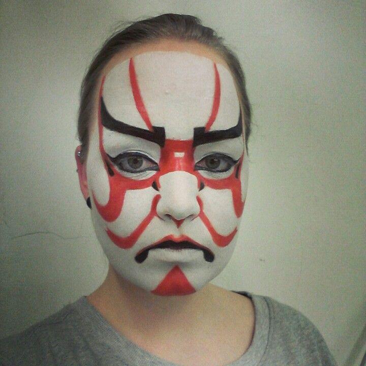 Kabuki Makeup Artists Concepts Pinterest Makeup Theatrical