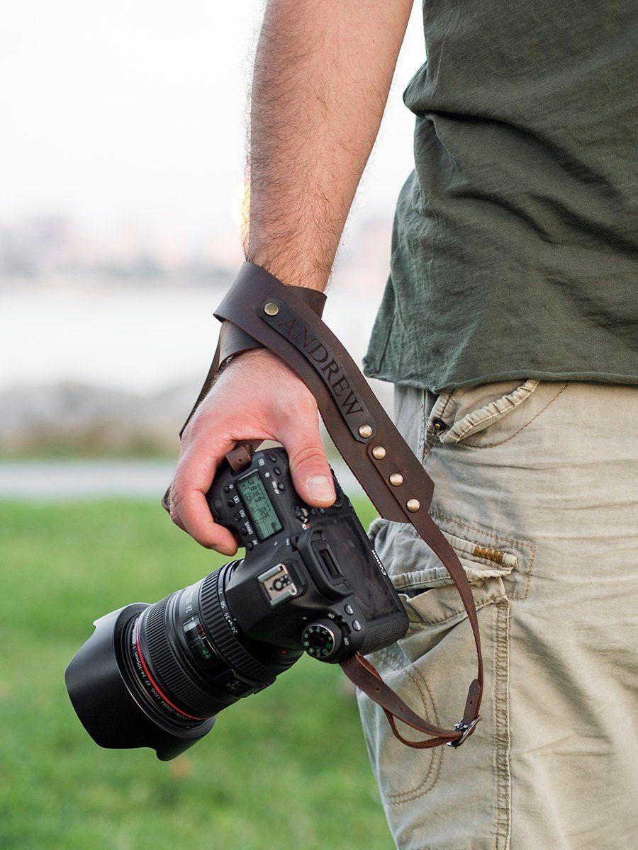 Traveler Gear Camera Accessory Red Lumberjack Camera Strap Photographer Gift DSLR Camera Strap