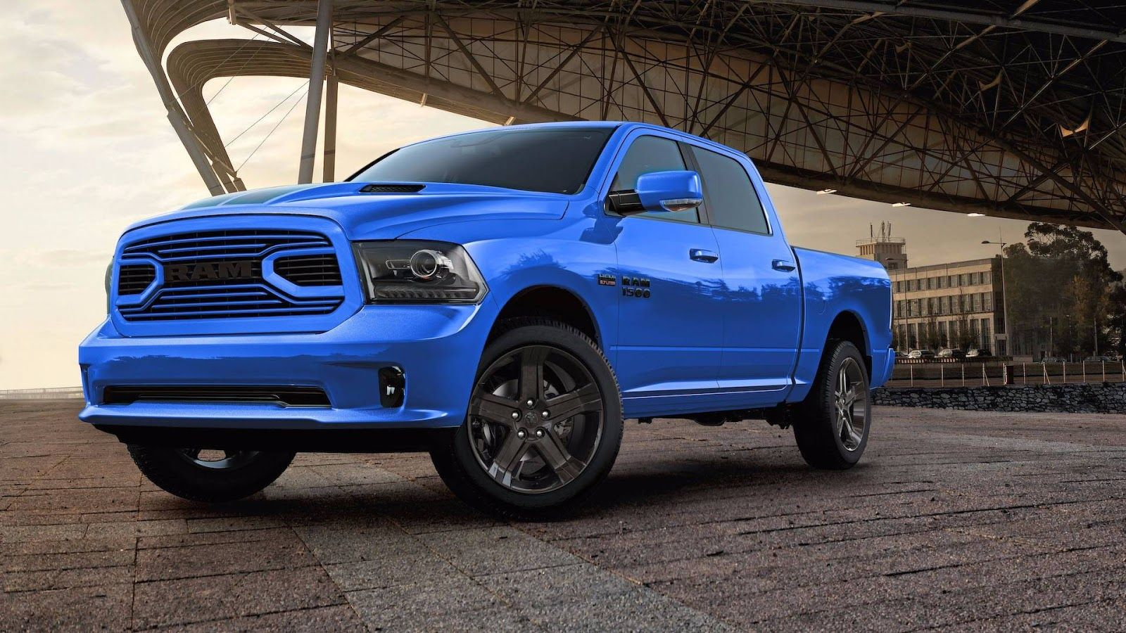 2018 Ram 1500 Hydro Blue Sport Edition Gets A Racy French Kiss