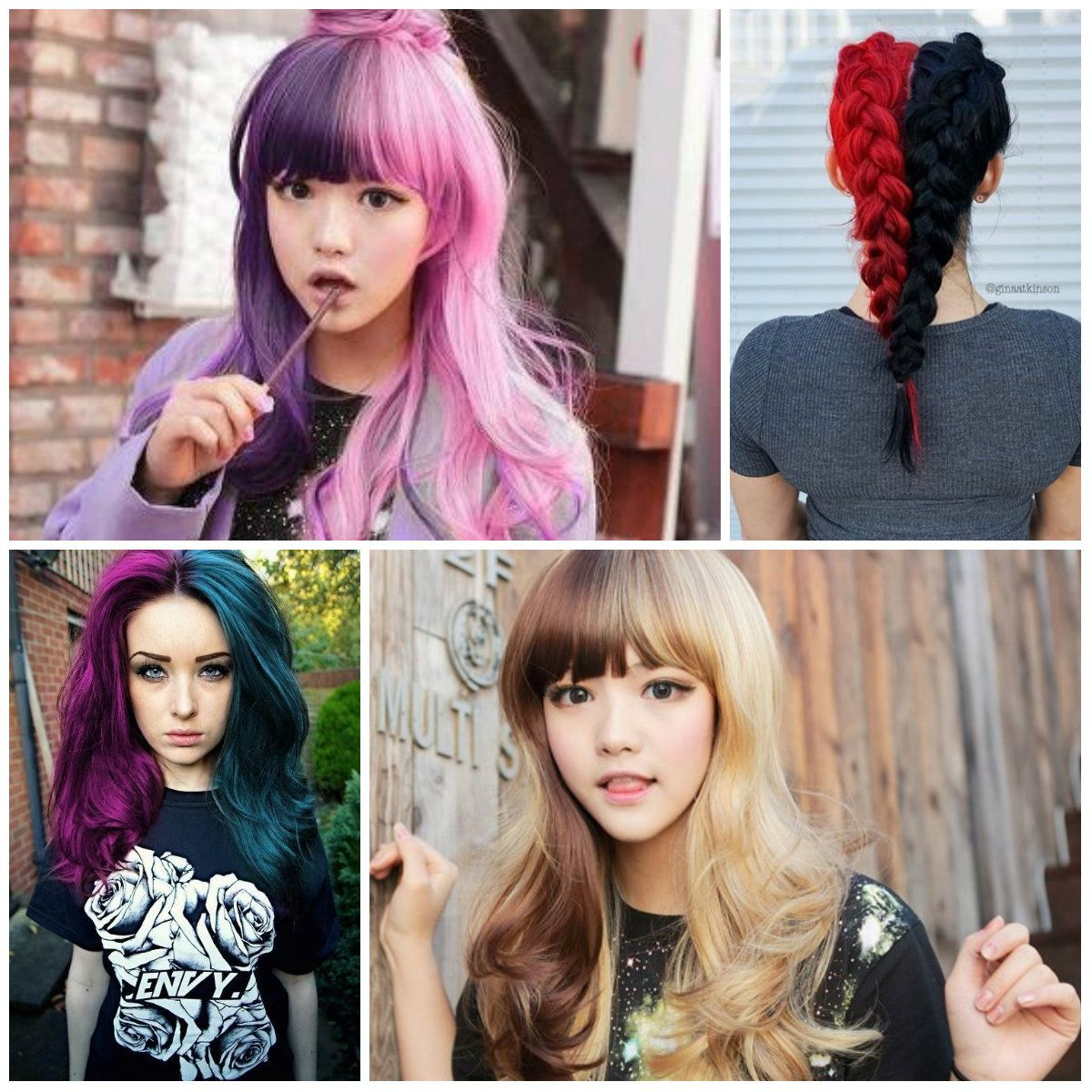 Pin By Emma Adeane On Hair Color Inspo In 2020 Hair Inspo Color Hair Color For Black Hair Hair Dye Colors