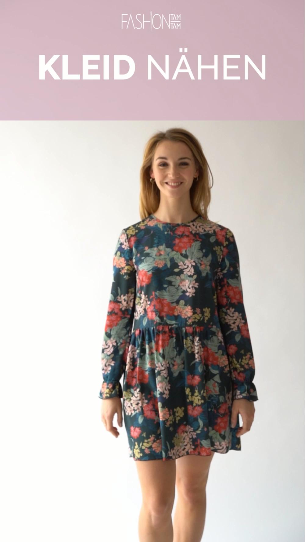 Kleid nähen – Schritt-für-Schritt Nähanleitung