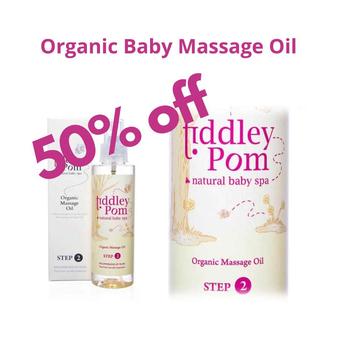 Organic Baby Massage Oil Now Half Price With Code Online50