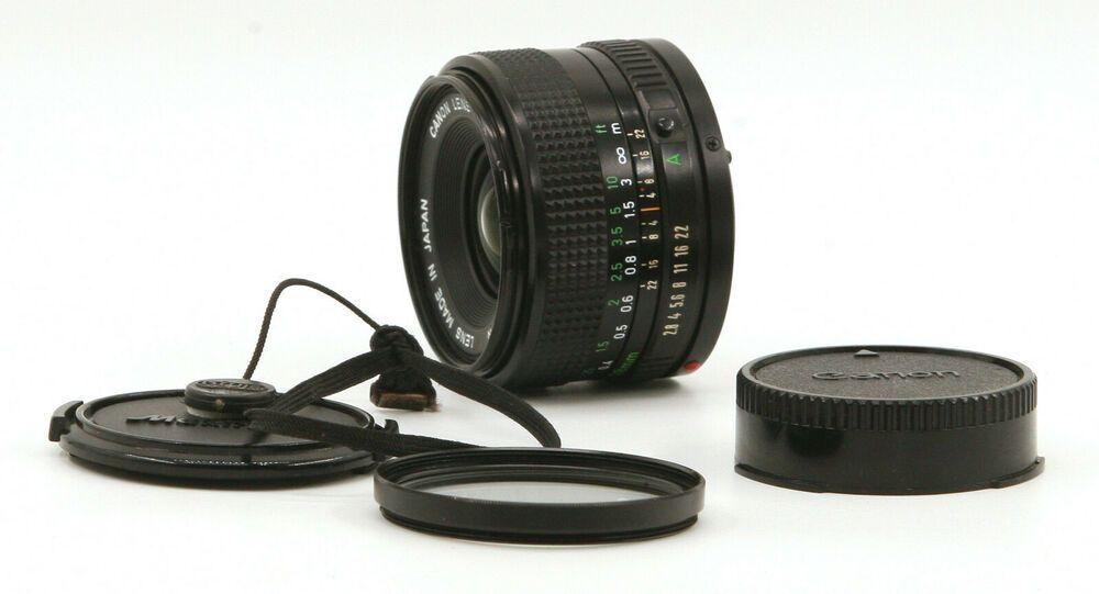 Canon Fd 28mm F2 8 Lens For Canon Fd Mount Good Condition Ebay In 2020 Canon Lens Lens Canon