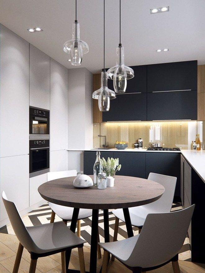 Inspiring Small Modern Kitchen Design Ideas 14 Small Modern Kitchens Kitchen Inspiration Design Modern Kitchen Design