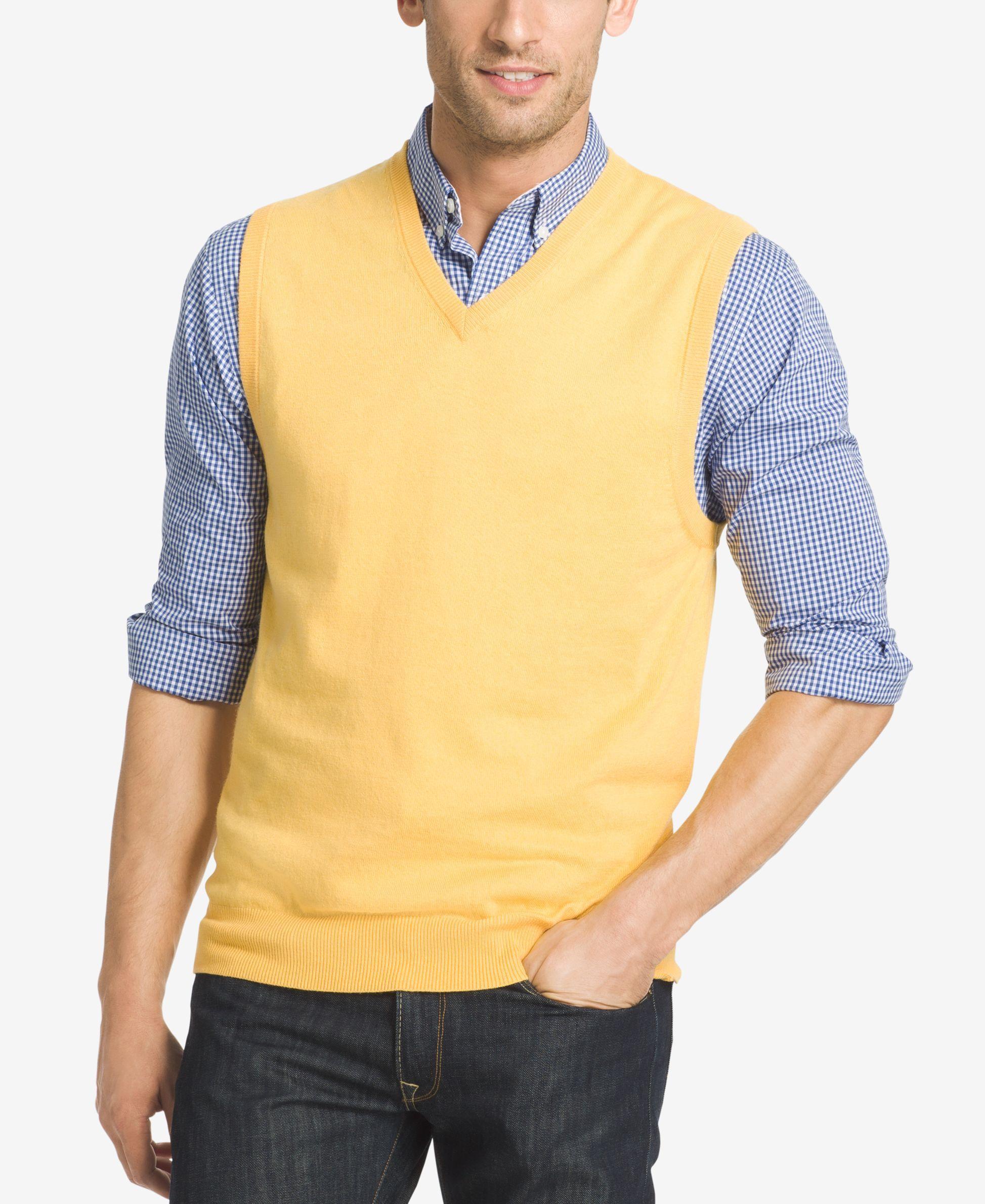 Izod Men's Campus Sweater Vest | Cardigans For Men | Pinterest