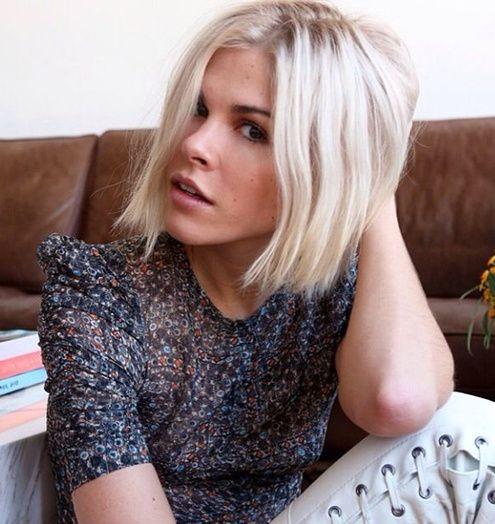 coiffure les plus beaux carr s vus sur pinterest blond. Black Bedroom Furniture Sets. Home Design Ideas