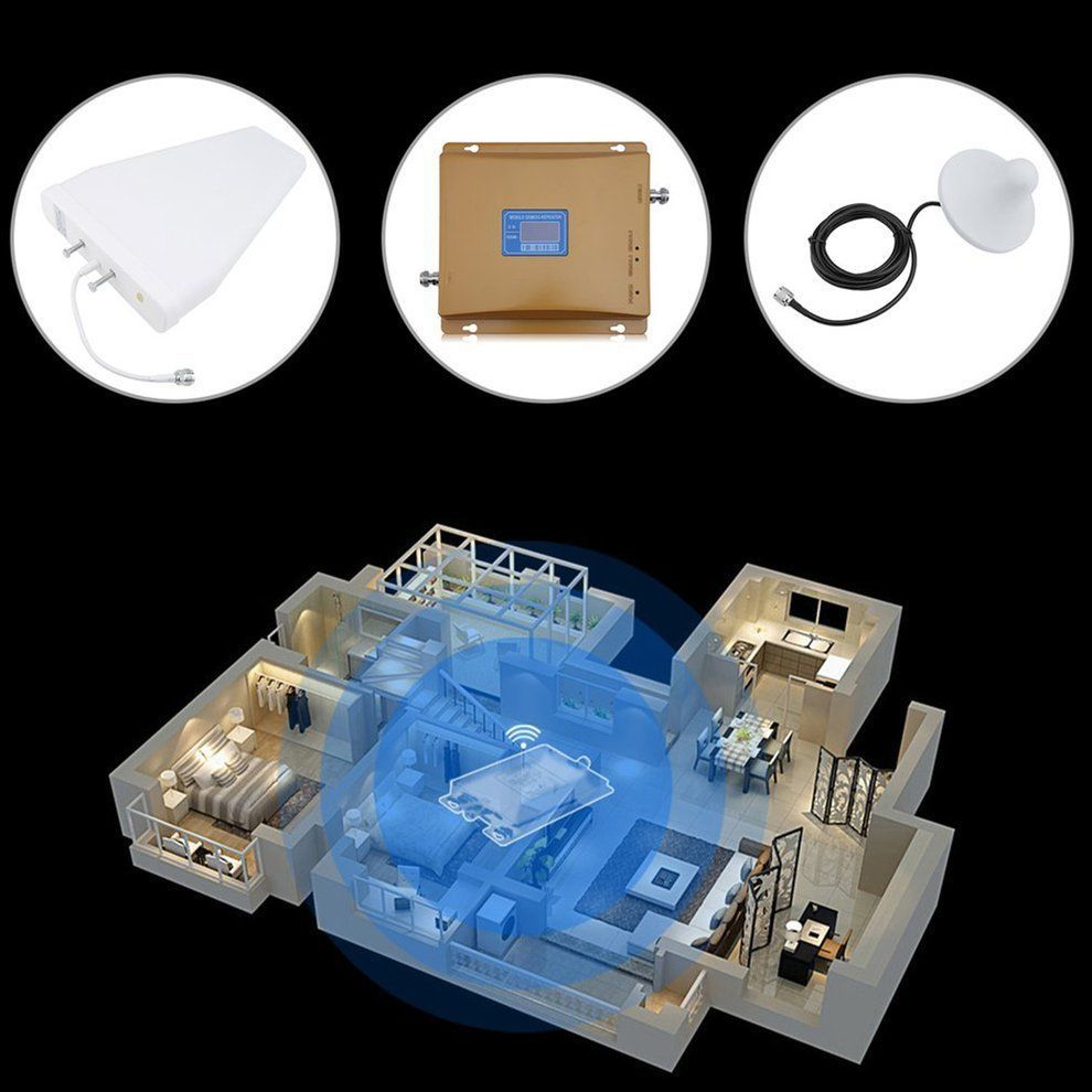 Ebay sponsored signal 3g gsm lte booster mobile repeater