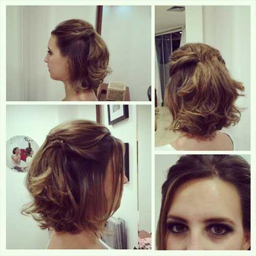 Pin Em причёски короткие