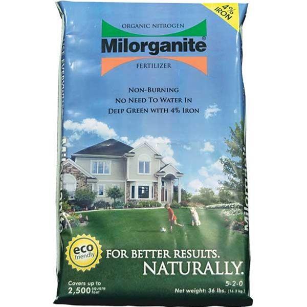Click to read more on Milorganite Organic Nitrogen