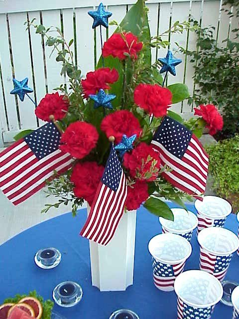 Patriotic Table Decorating Ideas Decorate Your Holiday With A Centerpiece