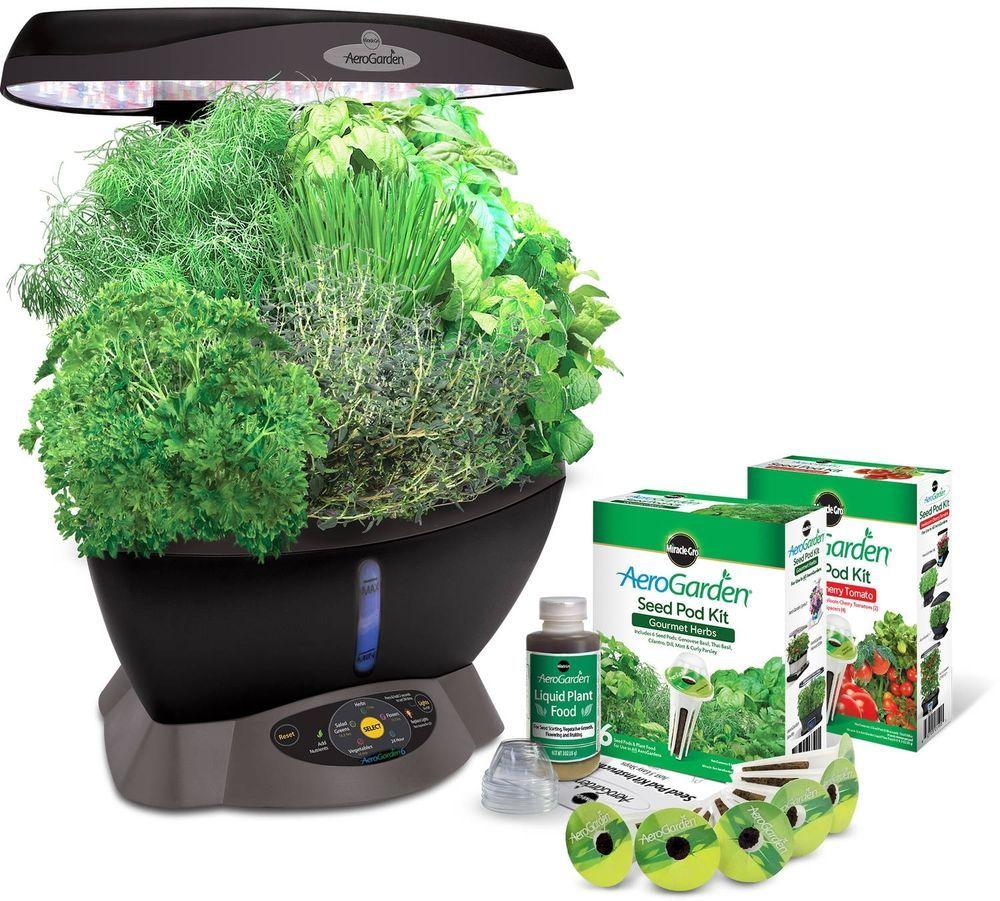 Hydroponic Garden Growing Light System Harvest Gourmet 400 x 300