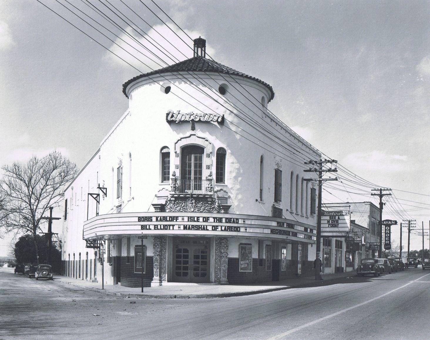 Historic Photos Of San Antonio Uptown Theater 1945 The