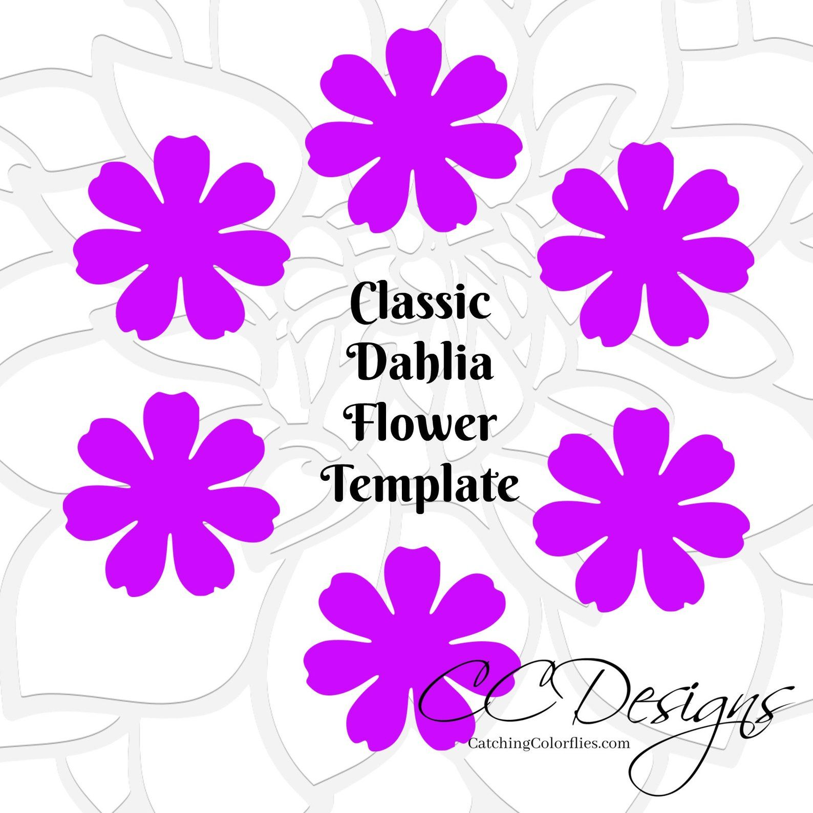 Pin On Flower Templates