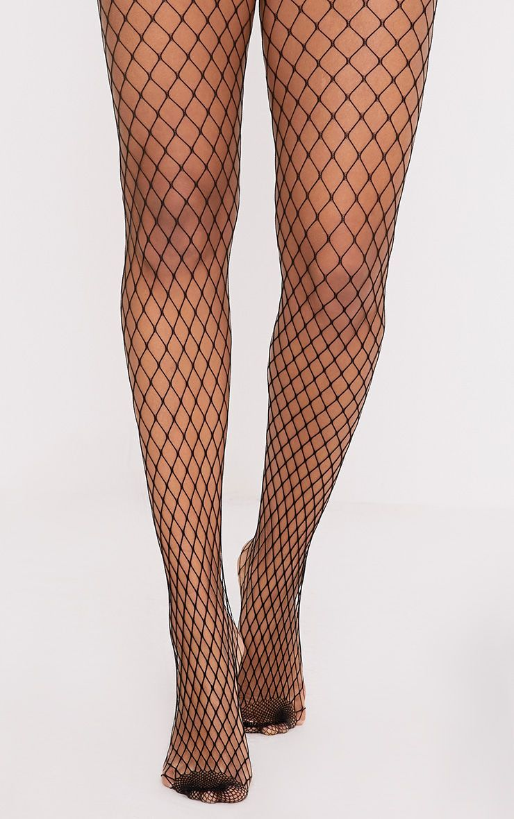 4ae5bc7cb4b26 Kelsie Black Medium Net Fishnet Tights | Shop Accessories | Now at  PrettyLittleThing.com. Free UK delivery & returns. Order now!