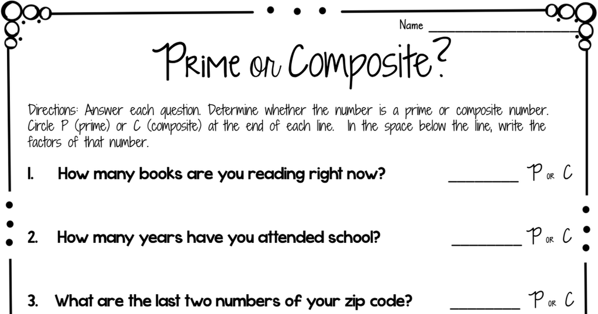 prime and composite worksheet freebie.pdf Prime and