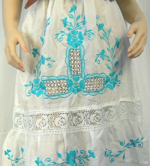 1970's Embroidered Peasant Skirt