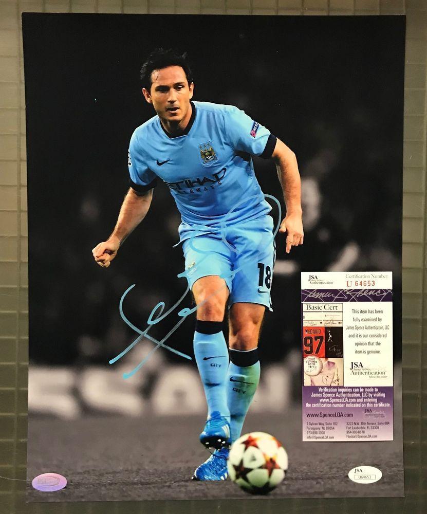 dd4d3fbd752 Frank Lampard Signed 11x14 Soccer Photo Autographed AUTO JSA COA ...