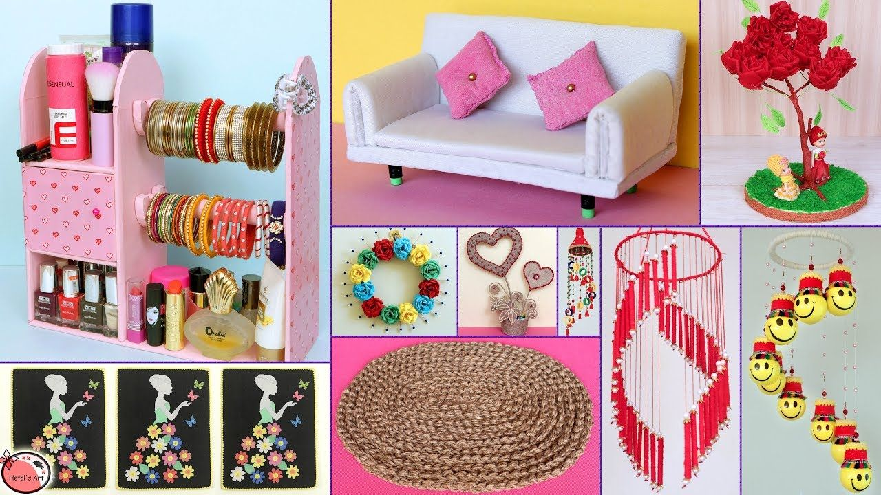 25 Best Out of Waste Idee !!! DIY ROOM DECOR & Organisationsidee