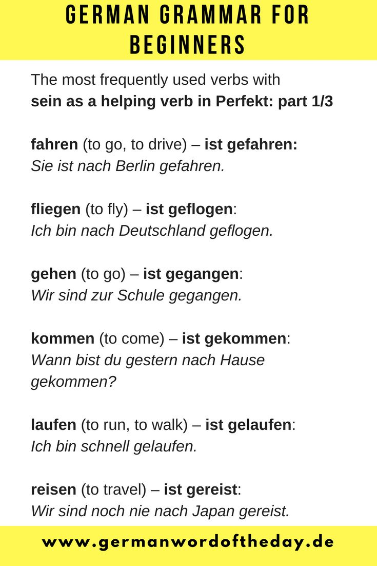 German for beginners   German language printable   Basic ...