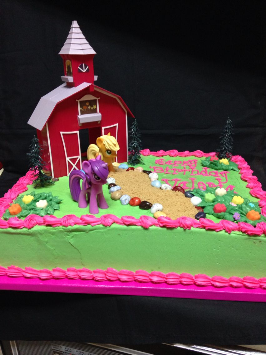 My Little Pony 1 2 Sheet Cake Made By Brendas Designs