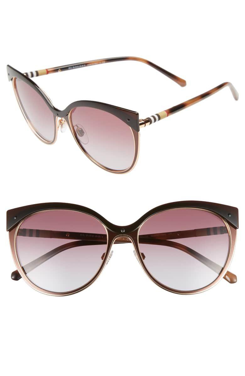 c2d2ab39e4a Heritage 55mm Cat Eye Sunglasses affiliatelink