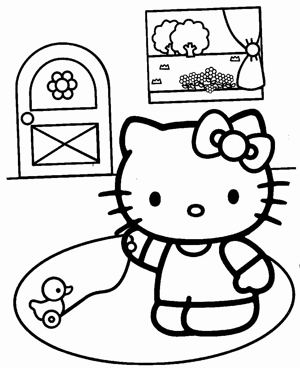 Hello Kitty Coloring Book Best Of Free Printable Hello Kitty Coloring Pages For Kids In 2020 Hello Kitty Colouring Pages Hello Kitty Drawing Cat Coloring Book