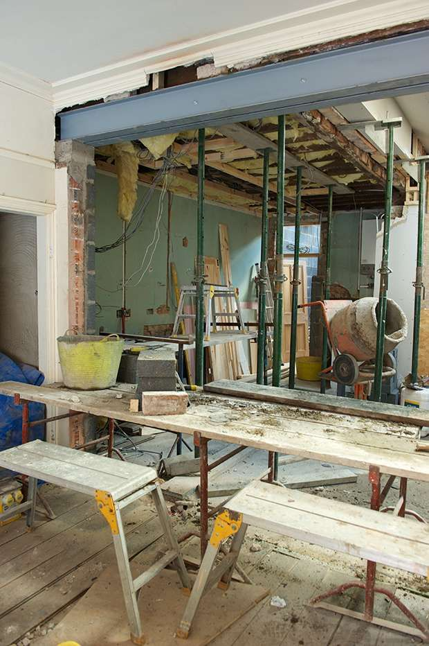 Knocking Down Internal Walls Homebuilding Renovating