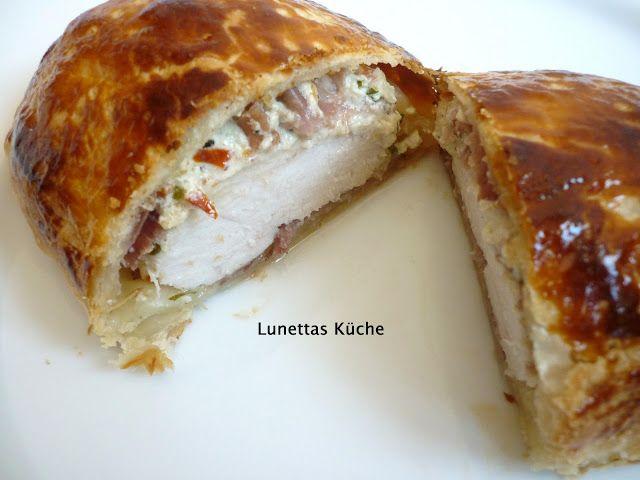 Lunettas Küche: Pouletbrust im Blätterteig