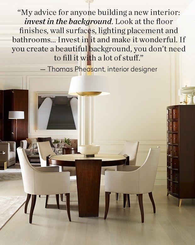 Dining Room Design, Thomas Baker Furniture