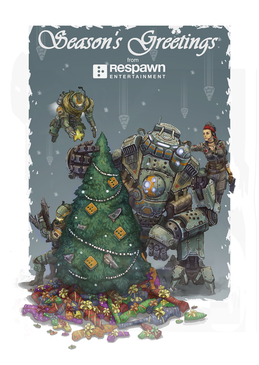 Respawn happy holidays to all of our awesome fans thank you for respawn happy holidays to all of our awesome fans thank you for all of kristyandbryce Images