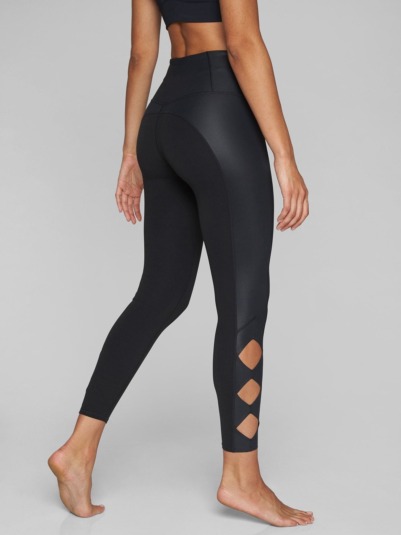 2079ec420518b ON SALE! Cobra Fitness Legging from Athleta. Cut-out diamonds at the calves  give these high-rise Powervita tights some extra pop, while their  sweat-wicking ...