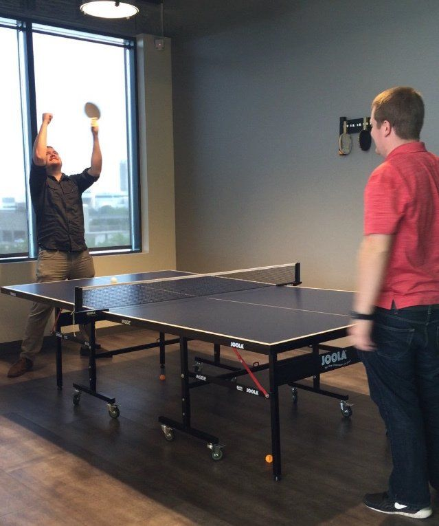 #Softwaretesting#Accessibility We take ping-pong breaks very seriously. #LifeAtSB http://pic.twitter.com/D4xBq5RfFp   Software Testing4w (@TestAutomati0n) August 11 2016