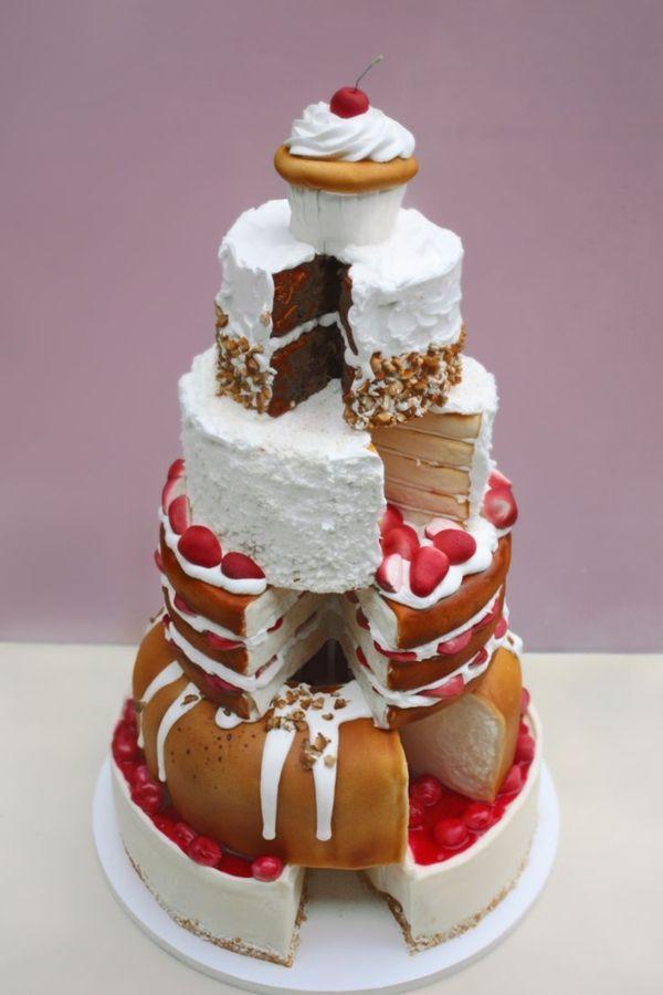 gâteau d'anniversaire original - archzine.fr | dessert decoration