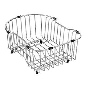 Moen 11 14 In W X 14 65 In L X 6 625 In H Metal Dish Rack And Drip Tra Sink Basket Stainless Steel Sinks Kitchen Sink Accessories