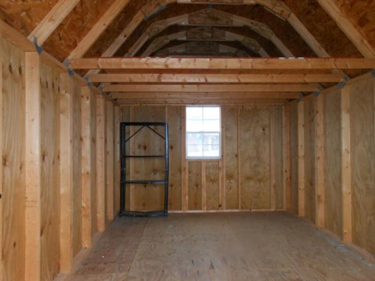 Storage Shed Used Garage Loft
