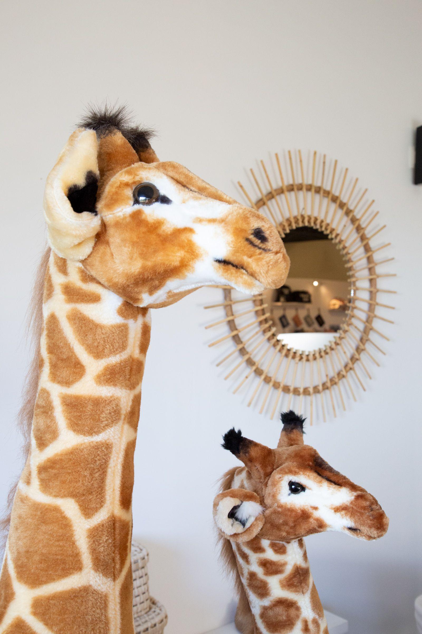 Standing Giraffe Stuffed Animal 65x35x180 Cm Brown Yellow Giraffe Stuffed Animal Big Stuffed Animal Giraffe [ 2400 x 1600 Pixel ]