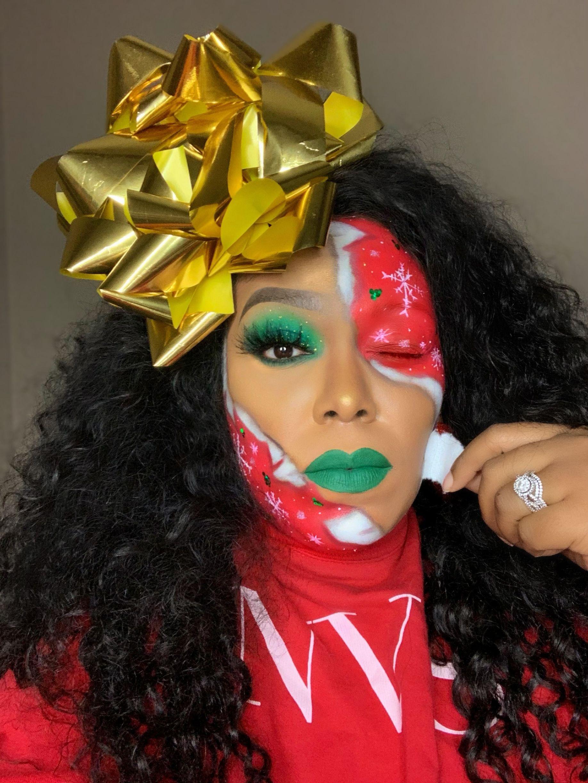 #Christmasmakeup #christmaslook #xmasmakeup