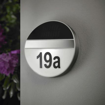 huisnummer verlichting chi op zonne energie incl cijfers letters solarlampkoning