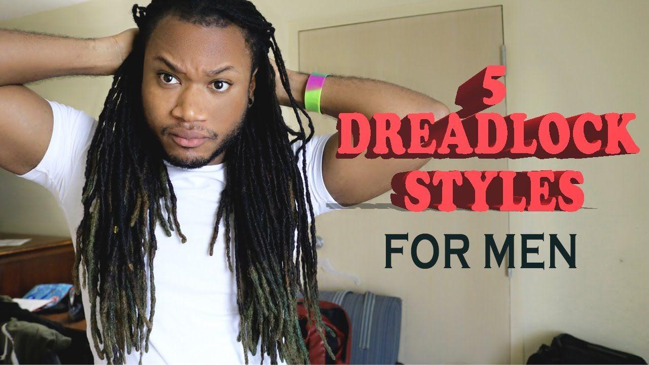 5 Quick And Easy Dreadlock Styles For Men Dreadlock Styles