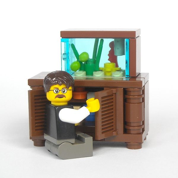 Aquarium Stand Diy Lego Fish Creations Brisbane Melbourne