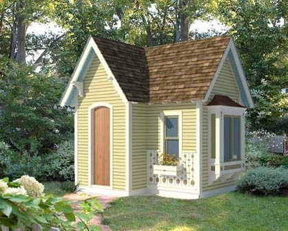 17 Best 1000 images about playhouse plans on Pinterest Outdoor