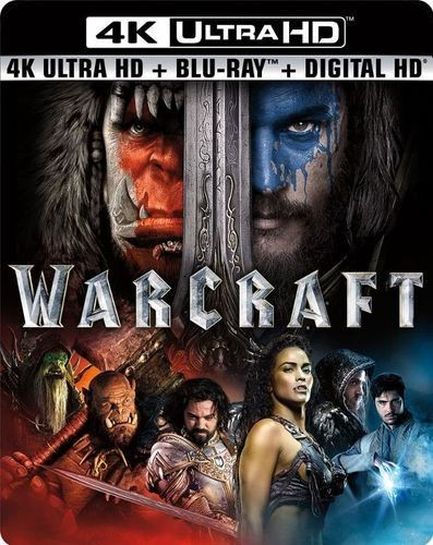 Warcraft Includes Digital Copy 4k Ultra Hd Blu Ray Blu Ray 2016 Best Buy In 2020 Warcraft Movie Travis Fimmel Warcraft