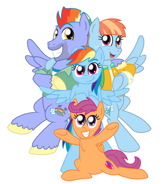 1494772 Artist Crazynutbob Bow Hothoof Chest Fluff Family Female Honorary Sister Pony Rainbow Dash Rainbow Das My Little Pony List Pony Rainbow Dash This was the hilarious result. my little pony list pony rainbow dash