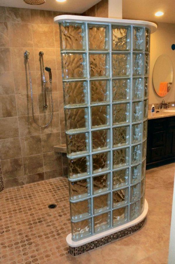 Glasbausteine Dusche pin barbara frommann auf badezimmer badezimmer