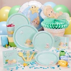 Precious Moments Baby Boy Baby Shower Deluxe Party Pack For