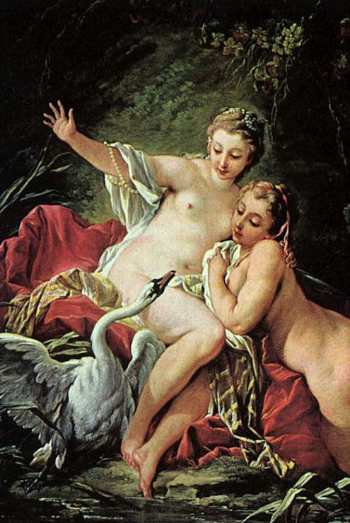 leda and the swan allusion