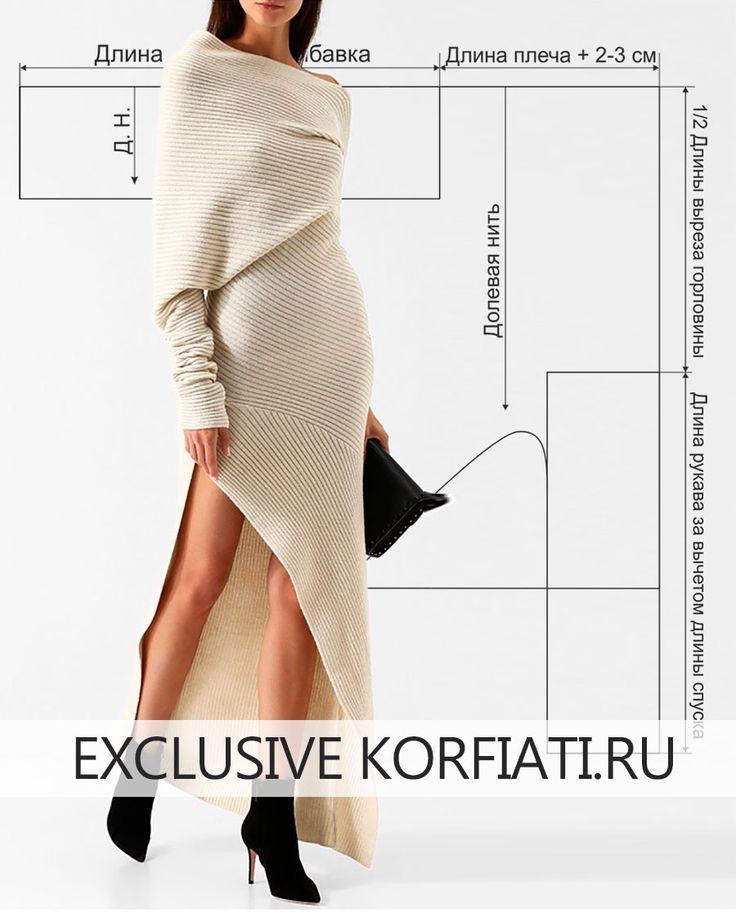Ein Kleid ohne Muster der fertigen Runde nähen | nähen | Pinterest ...