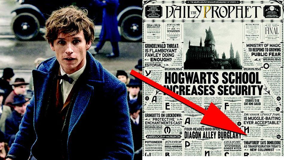 All The Harry Potter Easter Eggs You Missed In The Fantastic Beasts Opening Harry Potter Easter Eggs Harry Potter Fantastic Beasts